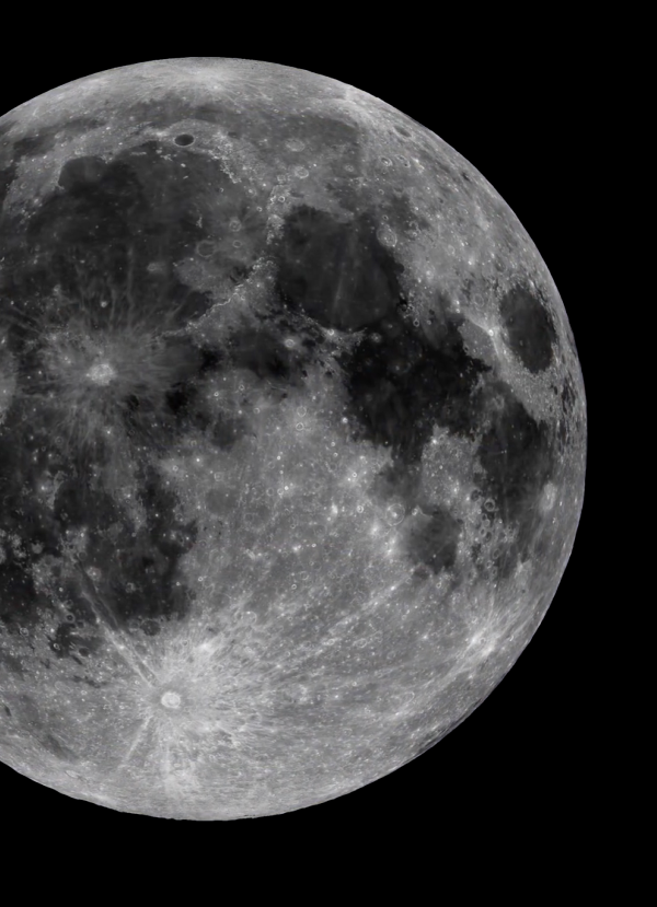 Kodėl mėnulis nenukrenta į Žemę
